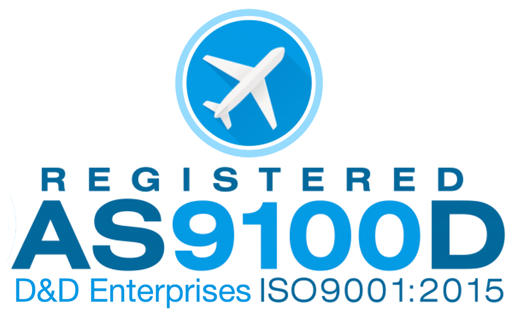 D&D Enterprises of Greensboro AS9100D ISO 9001:2015 Quality Management System