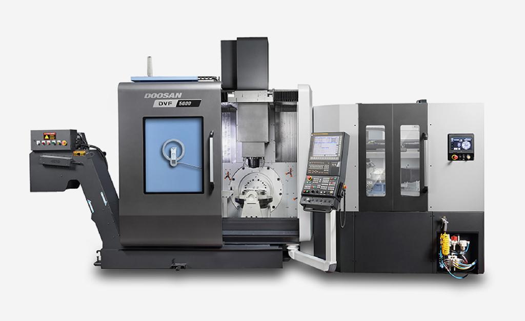 Doosan DVF 5000 5 axis machining center D&D Enterprises of Greensboro, Inc. USA