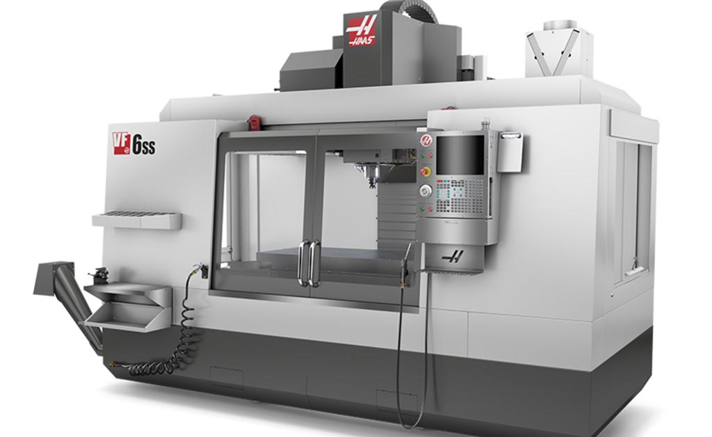 Haas VF-6SS. Haas VF-6 SS vertical machining centers D&D Enterprises of Greensboro, Inc. USA