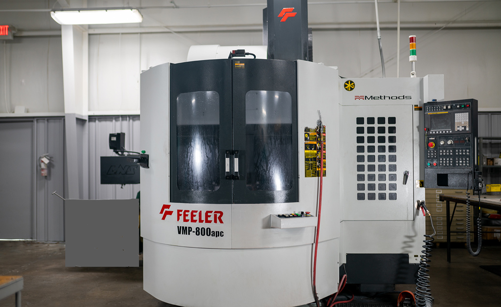 Haas high-performance Super-Speed vertical machining centers D&D Enterprises of Greensboro, Inc. USA